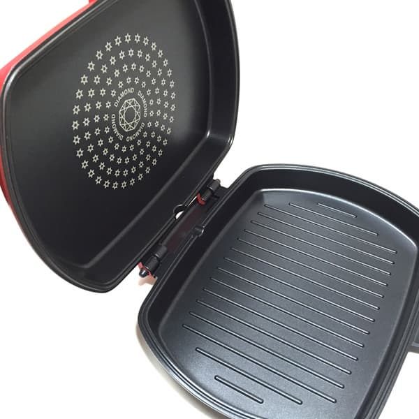 Double Sided Diamond Frying Pan Twin Grill Pans Tradekorea