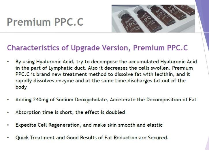 Premium PPC C for body slimming   tradekorea