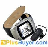 RUSH - 1.5 Inch TFT Touchscreen Watch Cell Phone with Bluetooth Headset