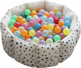 A Ball Pool Sofa-star-shaped-
