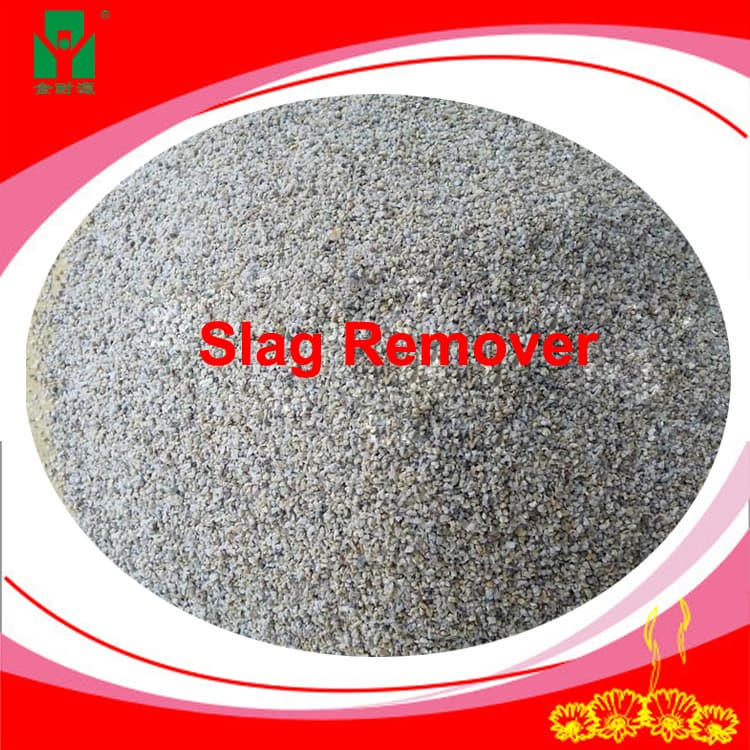 slag coagulant used on the surface of hot molten metal