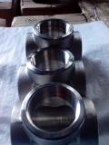 duplex stainless ASTMA182 F53 socket weld tee