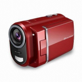 Portable Digital Video Camera with Electronic Shutter Control and 2.7-inch Large Screen