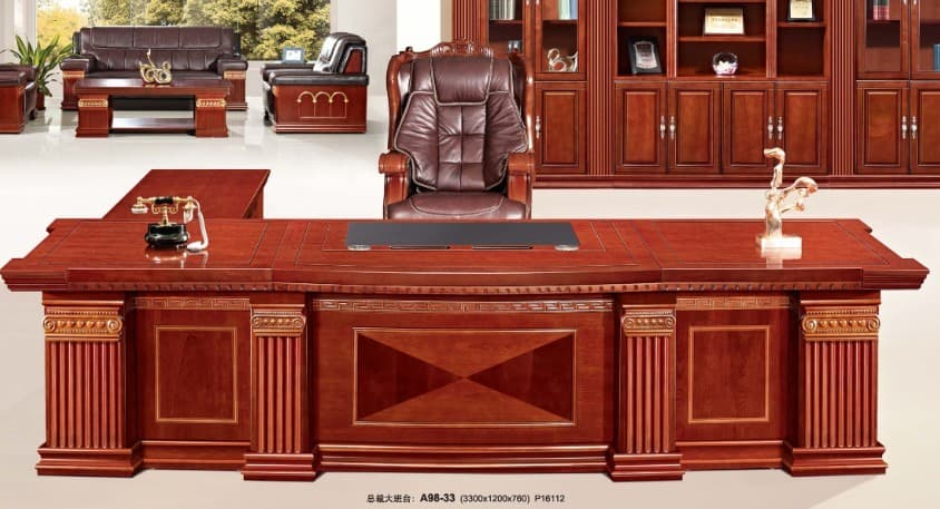 Big Boss Office Table Furniture From Ntuple Furniture Co