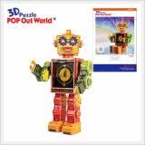 3D Puzzle Robot Clock - Tibot