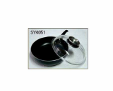 Deep Fry Pan W/Cast Galss Lid[Se Young Metal Co., Ltd.]