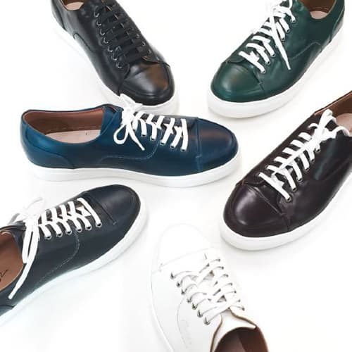 LEATHER SNEAKER_SHOES