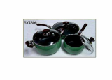 6PCS Enamel Coated Cookware Set[Se Young Metal Co., Ltd.]