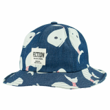 Whale Print bucket hat