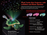 Plush Turtle Star Projector with Lullabies