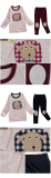 _dog_ 20_s flice long sleeves pajama set