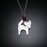 Oslo Fox Necklace