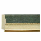 polystyrene picture frame moulding - 103 Green