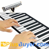 Flexible Roll Up Piano (Soft 61 Keys, 128 Synthesized Tones)