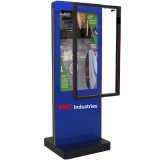 Untact touch screen