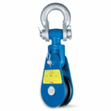 Snatch Block With Shackle-IJIN MARINE LIMITED