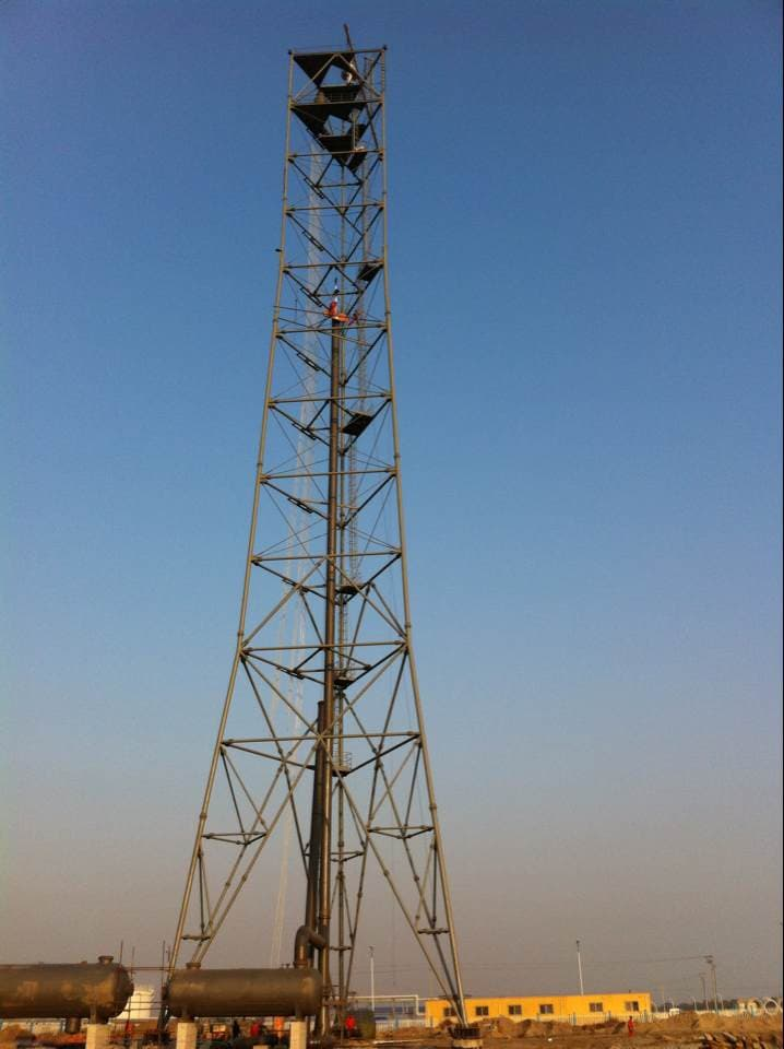 flare tower derrick structure | tradekorea