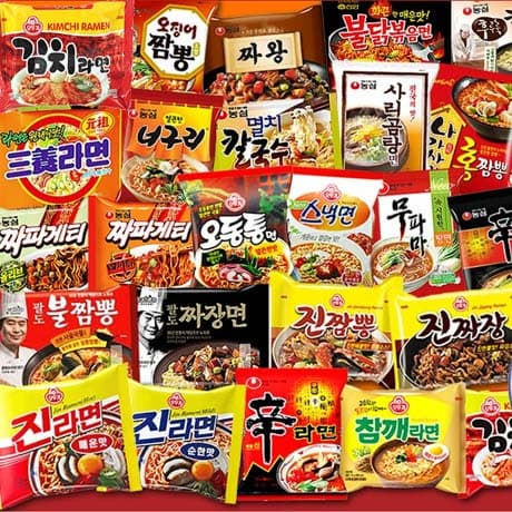 Instant foods_ All Korean Foods and Brands Available