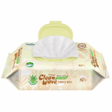 Cleanwave premium(wet wipes/wet tissue) -80sheets