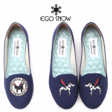 Flat shoes_Navy