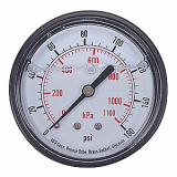 APPROVED VENDOR   4FLH6  Pressure Gauge_ Liquid Filled_ 2 In
