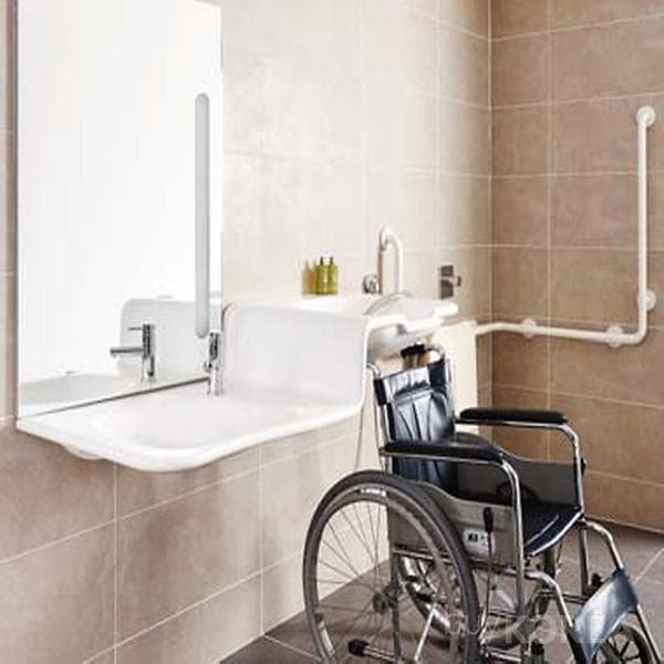 wheelchair user basin