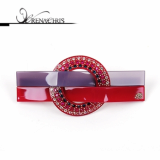 Circle Twist barrette