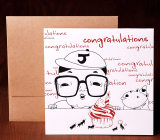 Handmade Letterpress Card, Congratulation Card including Envelopes_1.jpg