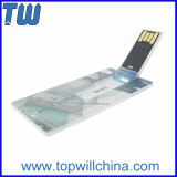 Slim Card Cheap Usb Flash Drives with Free Logo Printing