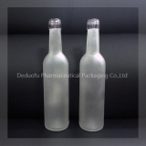 Frost Glass Beverage Bottle