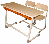 Inci Double School Desk Werzalit