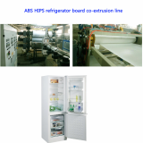 ABS HIPS refrigerator board sheet production line