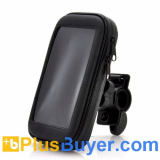 360 Degree Rotating Bicycle Mount + Soft Case For Samsung Galaxy S4