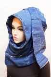 TH130[The twelve]*2014 stylish denim hijab series*