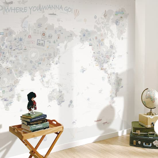 Worldmap wallpaper from u2 wallpaper inc tradekorea b2b korea worldmap wallpaper product thumnail image gumiabroncs Image collections