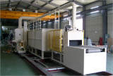 Continuous Brazing Furnace for Aluminum Made Workpiece