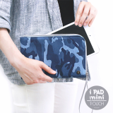 THE BASIC Denim iPad Mini Pouch