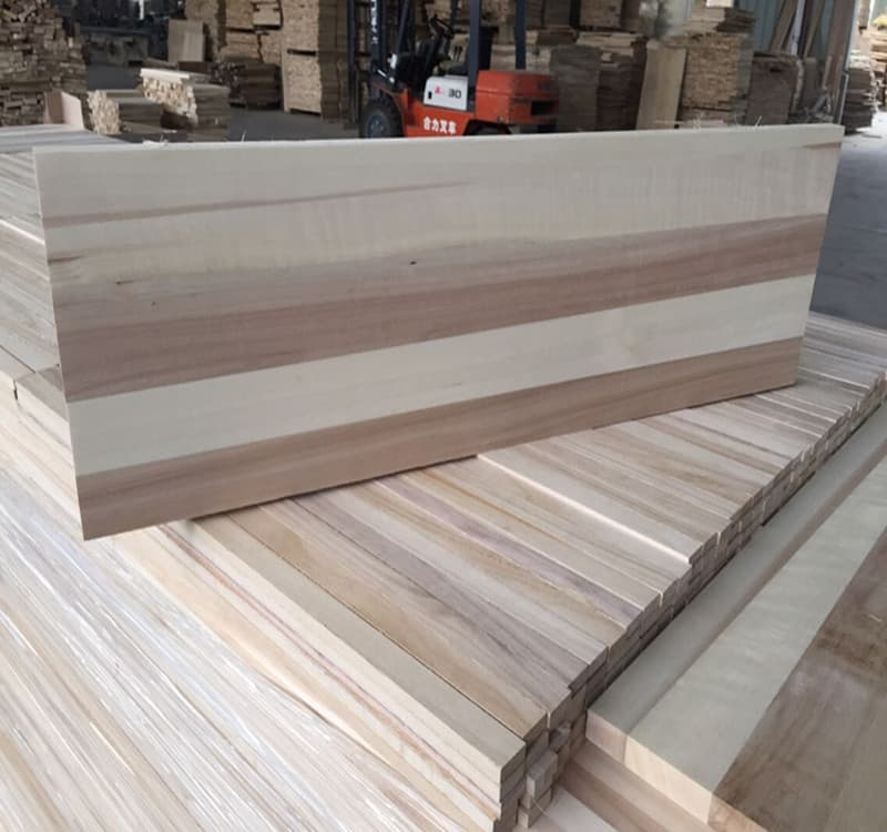Poplar sawn wood lumber timber wood for sale from heze for Timber decking for sale