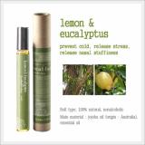 Roll-on Aromatherapy, Aroma Oils (Lemon & Eucalyptus)
