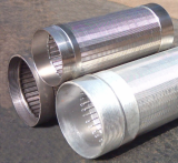 Wire-Wrapped of Stainless Steel Screen Pipe
