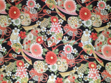 Chinese Style Printed Polyester Fabric for Bag, Shower Curtain, Table Cloth or Upholstery