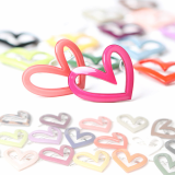 Heart in Heart point hairpin