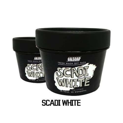 Whitening Wash-off Pack -SCADI WHITE-