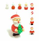 Christmas Santa Claus CandleClay CC-X901