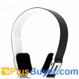 Wireless Bluetooth 3.0 Audio Headset with 2 Channel Stereo and Built-in Controls