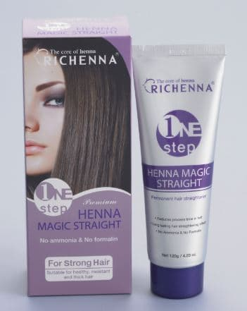 RICHENNA ONE STEP HENNA MAGIC STRAIGHT