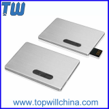 Slide Metal Credit Card 128GB Flash Drive with Fast Delivery