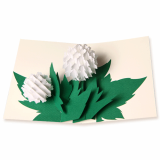Hydrangea POP-UP CARD