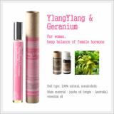 Roll-on Aromatherapy,  Aroma Oils (YiangYiang & Geranium)