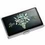Business Card Holder Inlaid with Mother of Pearl Chunwha